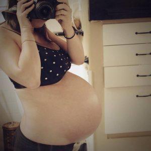 Pregnant Meghan